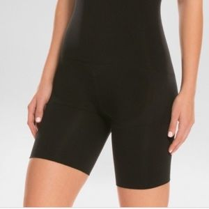 Assets by Spanx High-Waist Mid-Thigh Shaper Sz 3